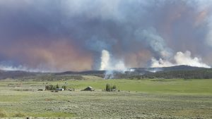 Photo of Beaver Creek Fire by Mark Dunning